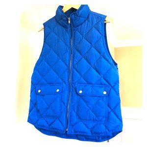 J. Crew Blue Vest